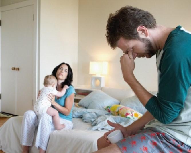 Семейный кризис из-за первенца?