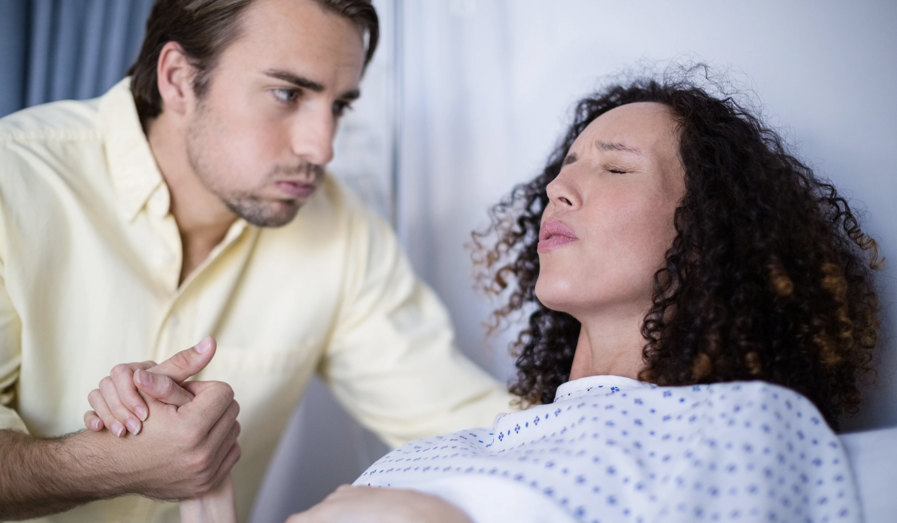 Схватки: как дышать правильно